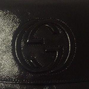 Gucci Soho patent leather crossbody!